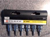 MASTER MECHANIC Sockets/Ratchet METRIC HEX BIT SET